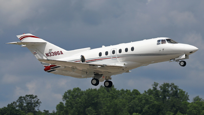 A picture of N3386A - Hawker 900XP - [HA0056] - © GregMac