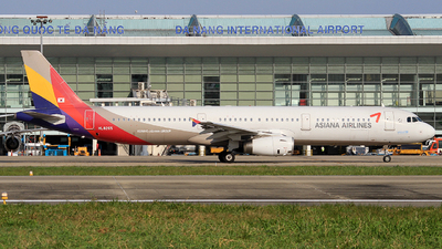 A picture of HL8265 - Airbus A321231 - Asiana Airlines - © Duc Thinh