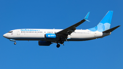 A picture of VQBTI - Boeing 7378LJ - Pobeda - © Vitaly Revyakin