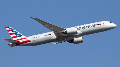 A picture of N820AL - Boeing 7879 Dreamliner - American Airlines - © Fabian Behr