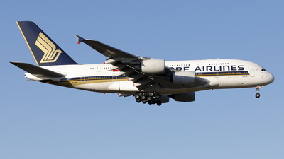 A picture of 9VSKM - Airbus A380841 - Singapore Airlines - © Mitsuhiro Yamamoto