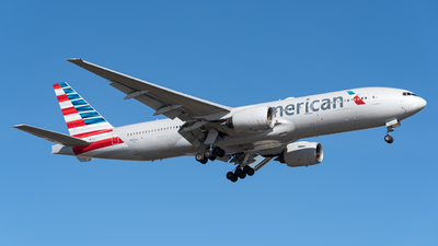 A picture of N761AJ - Boeing 777223(ER) - American Airlines - © Jackson Texeira