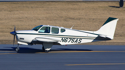 N675AS - Beechcraft 35 Bonanza - Private