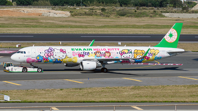 A picture of B16207 - Airbus A321211 - EVA Air - © Huang Chengjen