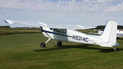A picture of N9314C - Cessna 180 - [31712] - © Jeremy D. Dando