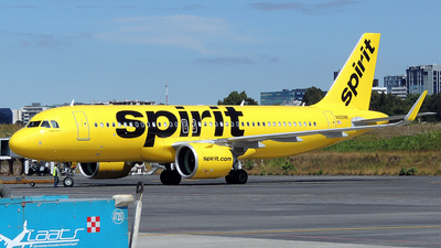 A picture of N925NK - Airbus A320271N - Spirit Airlines - © Julio Letona