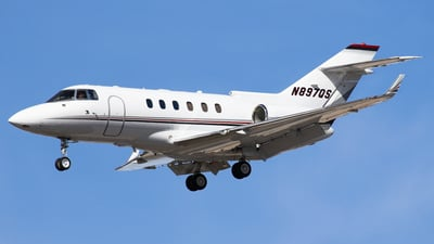 N897QS - Raytheon Hawker 900XP - NetJets Aviation