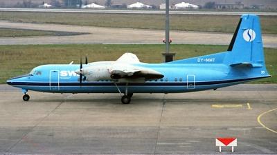 OY-MMT - Fokker 50 - Sabena