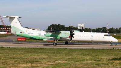 A picture of LNWDE - De Havilland Canada Dash 8400 - [4183] - © BaszB
