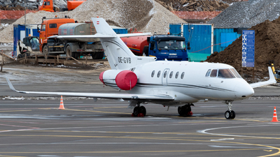 OE-GVB - Raytheon Hawker 850XP - MS Aviation