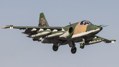 RF-90962 - Sukhoi Su-25SM Frogfoot - Russia - Air Force
