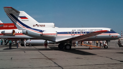 RF-87659 - Yakovlev Yak-40 - Yak Aircraft Corporation