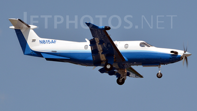 A picture of N815AF - Pilatus PC12/47 - PlaneSense - © Jay Selman - airlinersgallery.com