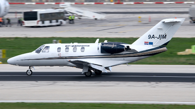 9A-JIM - Cessna 525 Citation CJ1 - Private