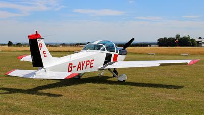 A picture of GAYPE - MBB Bolkow Bo.209C Monsun - [123] - © Mike Barker