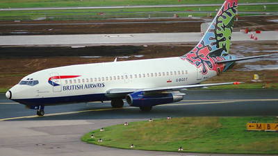 G-BGDT - Boeing 737-236(Adv) - British Airways