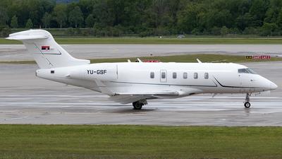 YU-GSF - Bombardier BD-100-1A10 Challenger 350 - Skybridge