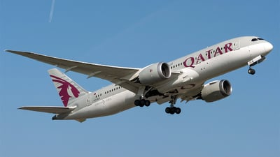 A7-BCA - Boeing 787-8 Dreamliner - Qatar Airways