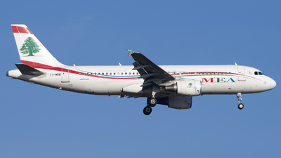 T7-MRB - Airbus A320-214 - Middle East Airlines (MEA)