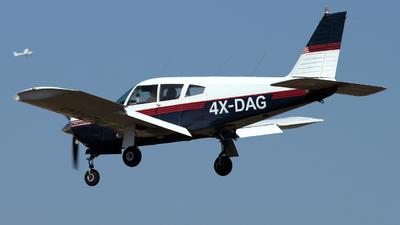 4X-DAG - Piper PA-28R-180 Cherokee Arrow - Private