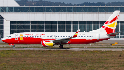 B-7992 - Boeing 737-8AL - Lucky Air