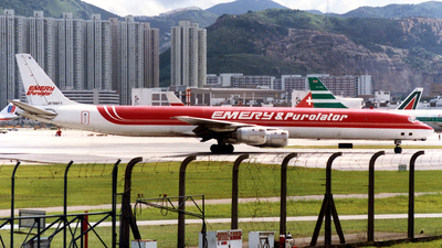 N796FT - Douglas DC-8-73(CF) - Emery Worldwide