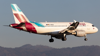A picture of DABGQ - Airbus A319112 - Eurowings - © Markus Buttinger