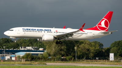 TC-LCR - Boeing 737-8 MAX - Turkish Airlines