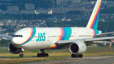 JA008D - Boeing 777-289 - Japan Air System (JAS)