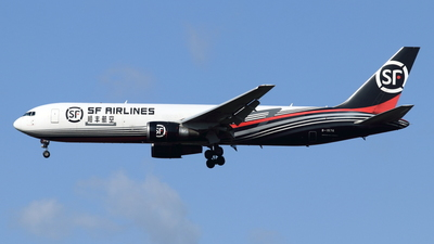 A picture of B1576 - Boeing 767338(ER)(BCF) - SF Airlines - © NRT Spotter