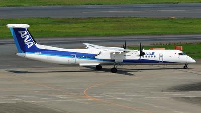 A picture of JA464A - De Havilland Canada Dash 8400 - All Nippon Airways - © tomobile