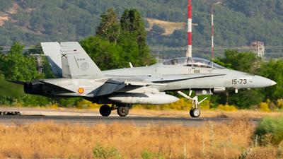 CE.15-04 - McDonnell Douglas EF-18BM Hornet - Spain - Air Force