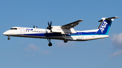A picture of JA850A - De Havilland Canada Dash 8400 - All Nippon Airways - © Yukio023