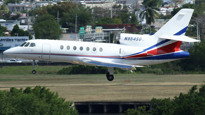 N954SG - Dassault Falcon 50 - Private