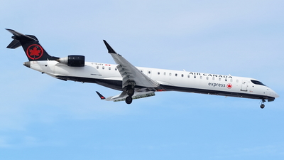 C-GJZV - Bombardier CRJ-900LR - Air Canada Express (Jazz Aviation)