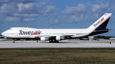 N606FF - Boeing 747-136 - Tower Air