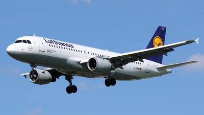 D-AIPB - Airbus A320-211 - Lufthansa