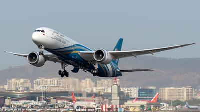 A picture of A4OSH - Boeing 7879 Dreamliner - Oman Air - © Sanskar nawani