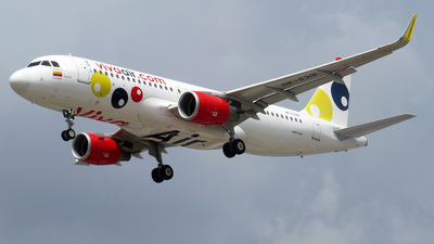 A picture of HK5318 - Airbus A320214 - Viva Air - © Camilo Andres Rodriguez Torres