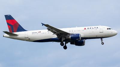 N350NA - Airbus A320-212 - Delta Air Lines