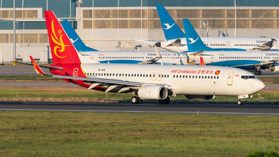A picture of B5115 - Boeing 7378FH - Air Changan - © AndySpotter