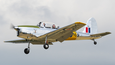 N950DH - De Havilland Canada Chipmunk T.2 - Private