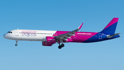A picture of HALVA - Airbus A321271NX - Wizz Air - © Kuba Majek