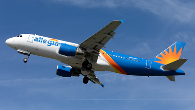 N258NV - Airbus A320-214 - Allegiant Air