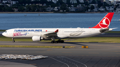 A picture of TCLNC - Airbus A330303 - Turkish Airlines - © OCFLT_OMGcat