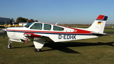 A picture of DEDHK - Beech F33A Bonanza - [CE1319] - © Daniel Schwinn