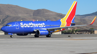 A picture of N908WN - Boeing 7377H4 - Southwest Airlines - © Nate Morin