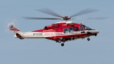 VF-139 - Agusta-Westland AW-139 - Italy - Vigili del Fuoco