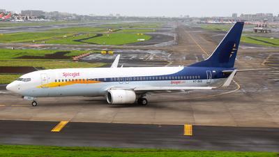 VT-SXE - Boeing 737-85R - SpiceJet