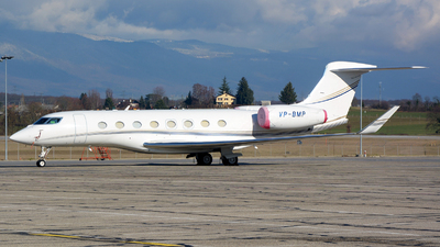VP-BMP - Gulfstream G650 - Private